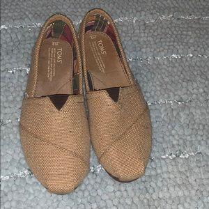 Toms new sz 9W shoes.